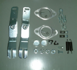 Heat exchanger fitting and lever kits, Pair